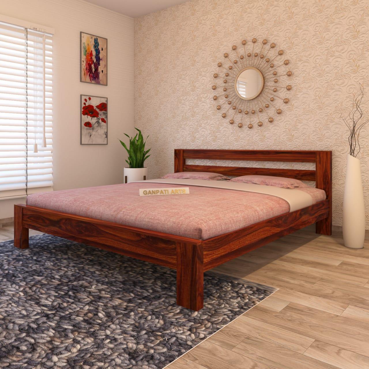 Buy wooden bed